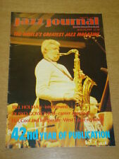 JAZZ JOURNAL INTERNATIONAL VOL 42 #8 1989 AUGUST BILL HOLMAN DUSKO GOYKOVICH