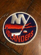 "1970'S NEW YORK ISLANDERS NHL HOCKEY VINTAGE 3"" ROUND TEAM PATCH"
