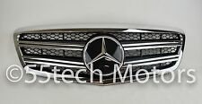 Mercedes W221 2010~2013 S-Class S550 S65 S600 Grill Grille BLACK -Distronic A7 D