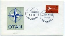 Luxembourg 1969 NATO 20th Anniversary First Day cover