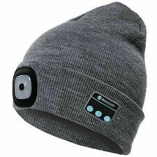 Jooheli Berretto con Luce LED Cappello Illuminato 6 LED per fare jogging andare in bicicletta USB Ricaricabile LED Beanie cap campeggio spalare la neve passeggiate