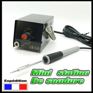 2010/1# mini station de soudure idéal pour composant CMS - soldering station SMD