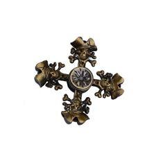 ECUBEE Zinc Alloy Hand Spinner Four Pirate Skull Fidget Spinner Finger Spinner R