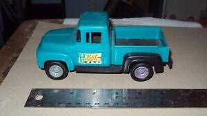 Vintage 1956 Ford Stepside Pickup * Blue-Green * Strombecker *