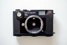 Leitz Minolta CL Rangefinder 35mm Film Camera Leica CLA'd
