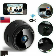 Wireless WIFI Spy IP Camera Mini Hidden Night Vision 1080P HD DVR+32GB SD Card