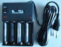 Cargador de baterias para 2 o 4  x AA Ni-Cd MW298