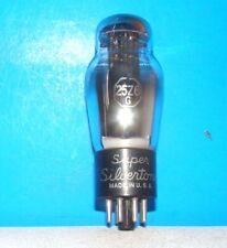 Type 25Z6G Silvertone vintage vacuum tube valve radio tested St shape 25Z6Gt