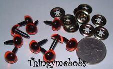 10 Set di sicurezza Ambra 10.5 MM/Toy gli occhi-toymaking/artigianato/Orsi/bambole/amigurumi