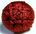 BEAUTIFUL ANTIQUE 1840'S-1860'S FRENCH VICTORIAN WOVEN EPASSEMENTARIE BUTTON