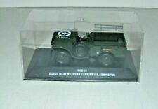 DODGE WC51 WEAPONS CARRIER OPEN US ARMY VICTORIA MILITARY R046 1:43