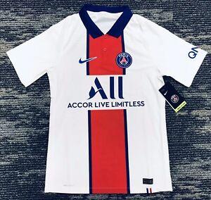 Nike Paris Saint-Germain 20/21 Vapor Match Away Jersey CD4188-101 Men's Size S