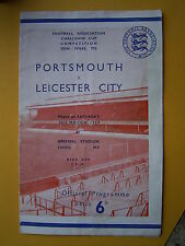 FA Cup Semi Final - Portsmouth v Leicester City - 26th March 1949