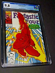Fantastic Four #353 CGC 9.8 White Pages (1991) 1st Mobious M. Mobious Beautiful