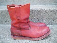 Vtg Red Wing Irish Setter Mens Work Hunting Leather Riding Biker Boots Size 10 D