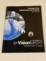 enVision Math Grade 5 Common Core Reteaching and Practice Workbook NEW