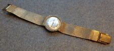 vintage womans Lucerne gold plated  wristwatch running