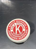 Kilb & Company Watch Material Jewelers Supplies Tin Advertising Collectible