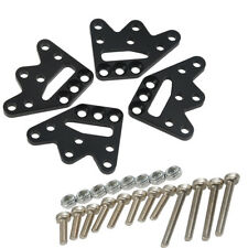 Alum Adjustable Shock Droop Mount Kit for AXIAL SCX10 Honcho 1/10 Scale Black A#