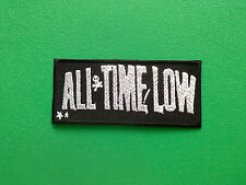 HEAVY METAL PUNK ROCK MUSIC FESTIVAL SEW ON / IRON ON PATCH:- ALL TIME LOW