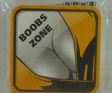 BOOBS-ZONE FEMME PIN-UP  6 Sous-bocks sous-verre carton NEUF
