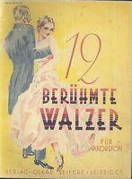 Kurt Mahr ~ 12 berühmte Walzer