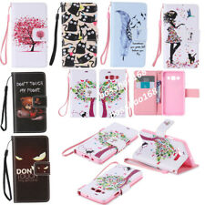 Magnetic Wallet Cartoon PU leather Gel Soft Flip Stand phone cover case Strap Z4