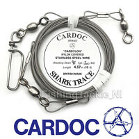 Cardoc Shark Trace 95kg /200lb Extra Heavy Duty Terminal Tackle Deep Sea Fishing