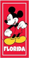 Disney Classic Mickey Red Beach Towel