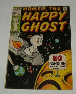 HOMER the HAPPY GHOST # 2 MARVEL COMICS JANUARY 1970 CASPER KNOCK OFF HUMOR