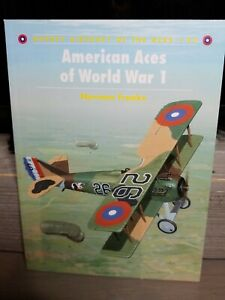 AVIATION BOOK American Aces of World War l