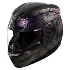 Icon Airmada Chantilly Opal Womens Street Riding Cruising DOT Motorcycle Helmets