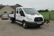 NOW SOLD  FORD TRANSIT 350 L3 DOUBLE CAB   TIPPER 125bhp 2015/65