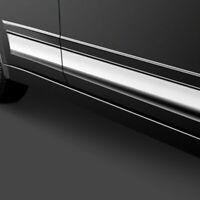 For Cadillac DeVille 1997-1999 SAA F-Type Polished Rocker Panel Covers