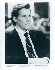 Press Photo Handsome Actor Kevin Bacon in Criminal Law