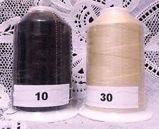 NEW Black & Beige GUTERMANN miniking 100% polyester thread 1094 yd Spools