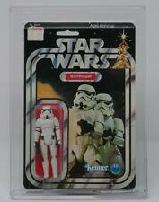 12 Back-B AFA 85 NM+ Stormtrooper Vintage Kenner 1978 Star Wars
