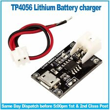 TP4056 Lithium Cell Battery Charger Micro USB 1A (Li-ION / LiPO) RobotDyn