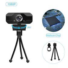 Webcam 1080p 4K Web Camera with Microphone PC Camera 60fps Webcam Full HD 1080p