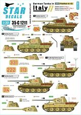 Star Decals 1/35 German tanks in Italy # 11. Panther A & G 35c1211