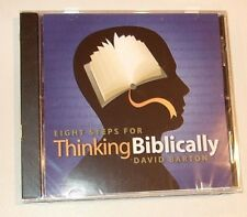 Eight Steps For Thinking Biblically by David Barton - NEW CD