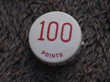 Flipper 100 points Rouge Pop Pare-Chocs Capuchon Plastique Original Gottlieb Flipper