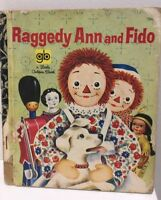 Little Golden Book  LGB  BARBARA HAZEN HC FREE POST RAGGEDY ANN & FIDO 1970 #390
