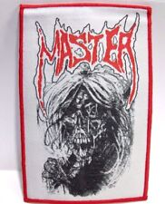 MASTER RED BORDER WOVEN PATCH