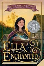 Ella Enchanted a paperback book by Gail Carson Levine FREE SHIPPING young adult
