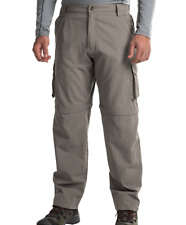 NEW DAKOTA GRIZZLY CONVERTIBLE PANTS /SHORTS MENS M SUPPLEX ZIP OFF PANT FREE SH