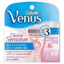 Gillette Venus Divine Sensitive Klingen 4er Neu