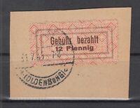 BY7042/ GERMANY – BRITISH ZONE – LOHNE – MI # 2 I USED ON PIECE