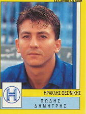 N°152 IRAKLIS THESSALONIKI GREECE PANINI GREEK LEAGUE FOOT 95 STICKER 1995
