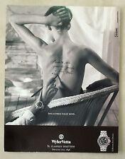 C439-Advertising Pubblicità-1999- WYLER VETTA COLLEZIONE EOX CHRONO